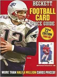 Football Card Price Guide Magazine - Beckett Media