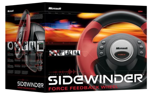 Microsoft Sidewinder Force Feedback Wheel Manual Lawn