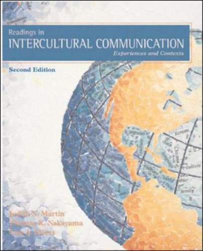 Readings in Intercultural Communication: Experiences and...