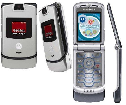 Verizon Wireless Motorola Razr V3M - Purple