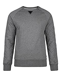 WE Fashion HERREN-SWEATSHIRT 78164826 Hellgrau meliert L