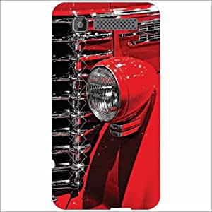 Intex Cloud Y11 Back Cover - Silicon Red Designer Cases
