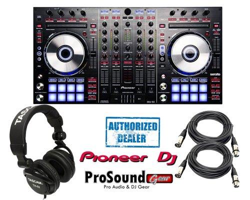 Pioneer Ddj Series Ddj-Sx Digital Performance Dj Controller + Tascam Th02 Headphone + Xlr Cables 20Ft Ea
