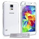 YouSave Accessories Etui en plastique pour Samsung Galaxy S5 Transparent