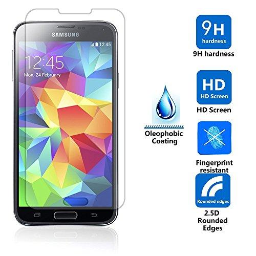 Josi Minea® Tempered Glass Lcd Screen Protector Film Screen Guard Cover Shield For Samsung Galaxy S5 / Sv / I9600