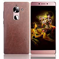 BOUNCEBACK LEATHER COATED SHOCKPROOF CASE COVER FOR LE ECO(LE TV)LE MAX 2-BROWN