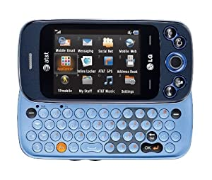 LG Neon II GW370 (Rumour Plus) Unlocked GSM Phone with Touchscreen, QWERTY Keyboard, 2MP Camera, GPS, Bluetooth, FM Radi
