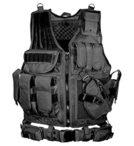 UTG Airsoft Deluxe Tactical Vest (Black)