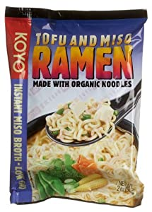 Koyo Tofu and Miso Ramen, 2 oz, 12 pk