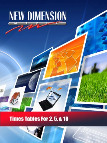 Times Tables For 2, 5, & 10