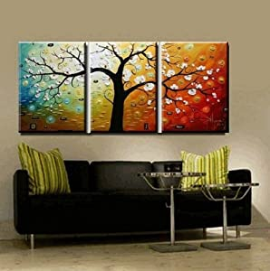 Abstract Wall Canvas Art Sets Painting For Home Decoration 100 Hand Painted Oil