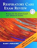 img - for Respiratory Care Exam Review: Review for the Entry Level and Advanced Exams (Book with CD-ROM) book / textbook / text book