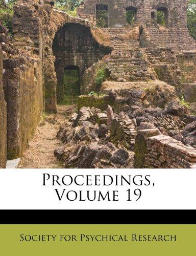 Proceedings, Volume 19