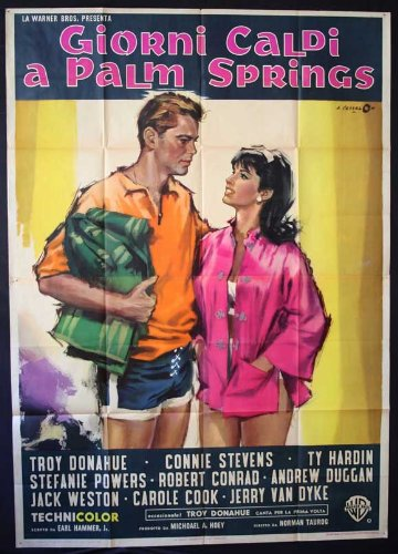 27 x 40 Palm Springs Weekend Movie Poster (Pictures Of Spring compare prices)