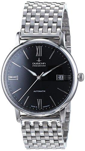 Dugena  Dugena Premium - Reloj de automático para hombre, con correa de acero inoxidable, color plateado