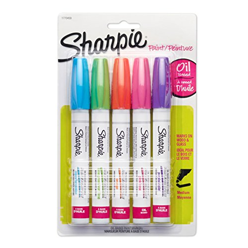 sharpie-medium-point-oil-based-opaque-paint-markers-5-pkg-aqua-orange-lime-green-pink-purple