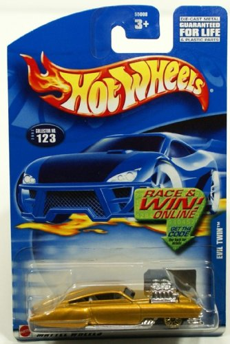 "Hot Wheels 2002 ""Race & Win"" Collection ""Evil Twin"" 1:64 Scale Collector Car #123"