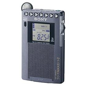 SONY FM/AM/ラジオNIKKEI ポケッタブルラジオ R931 ICF-RN931