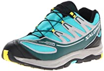 Salomon XA Pro 2 WP Running Shoe (Little Kid/Big Kid),Blue/Blue/Canary Yellow,5 M US Big Kid