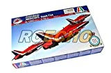 RCECHO® ITALERI Aircraft Model 1/72 Royal Air Force Red Arrows Hawk T1A 1303 T1303 with RCECHO® Full Version Apps Edition