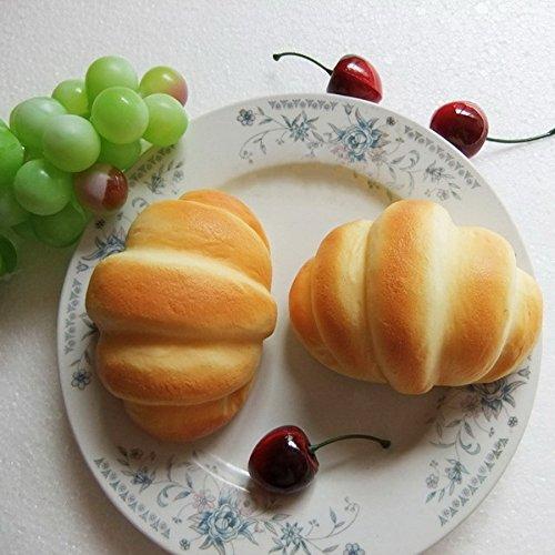 Gresorth 2 pcs pu material fake cake artificial small bull for Artificial bread decoration