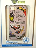 Disney World 2015 D-tech WDW Parks Authentic Iphone 5 5s Phone Hard Case & Screen Guard Cleaning Cloth I Make Wicked Look Beautiful Villains Shoes