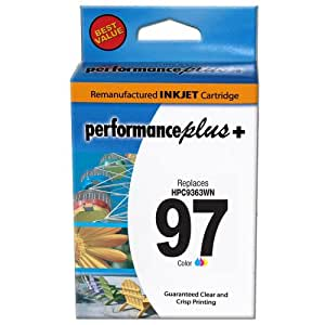 Performance Plus Remanufactured HP97 Large Tri-Color Inkjet Cartridge (C9363WN #97)
