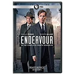 Masterpiece Mystery!: Endeavour Season 4 (UK-Length Edition) DVD