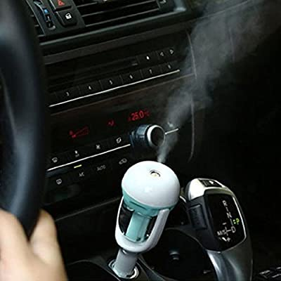 Annbully Car Aroma Diffuser Humidifier Portable Mini Air Purifier Freshener Aromatherapy Car charge Supplies Refresh & Revitalize your Vehicle