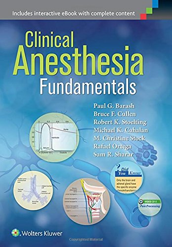 Clinical Anesthesia Foundations: Includes interactive eBook with complete content