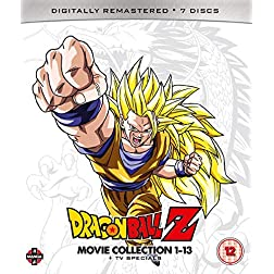 Dragon Ball Z Movie Complete Collection: Movies 1-13 + TV Specials - Blu-ray [Blu-ray]
