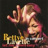 echange, troc Bettye Lavette - Let Me Down Easy In Concert
