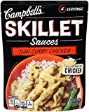 Campbell's Skillet Sauces, Thai Curry Chicken, 11 Ounce (Pack of 6)