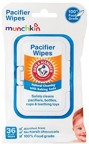 Munchkin 72 Pack Arm and Hammer Pacifier Wipes, White - 1