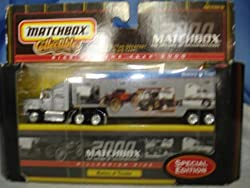 Matchbox Collectibles Rigs for the Year 2000 History of Transportation