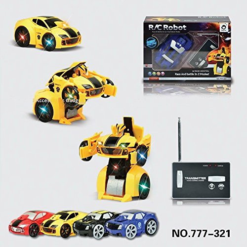 51C2sQz1vnL RC Transforming Car & Robot Remote/Radio Control Transformer Mode Robot and Car