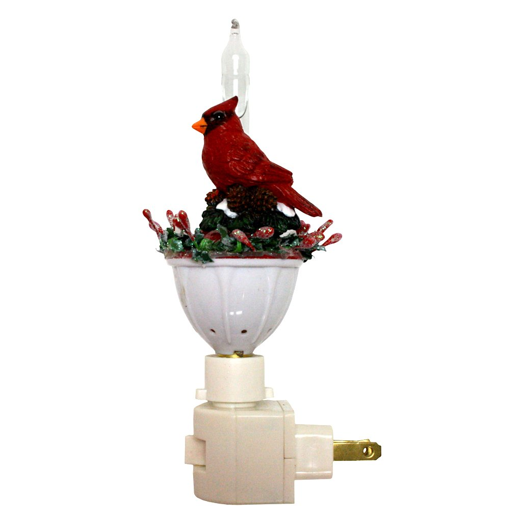Cardinal Bubble Light Night Light