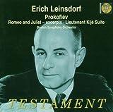Sergey Prokofiev Romeo And Juliet Excerpts, Lieutenant Kije Suite (Leinsdorf)
