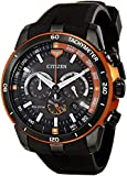 Citizen Men's CA4154-15E Ecosphere Analog Display Japanese Quartz Black Watch