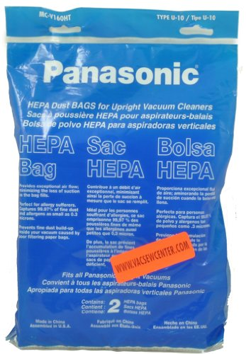 Panasonic Type U-10 Disposable Bags