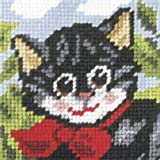 Pussy Cat Embroidery Kit