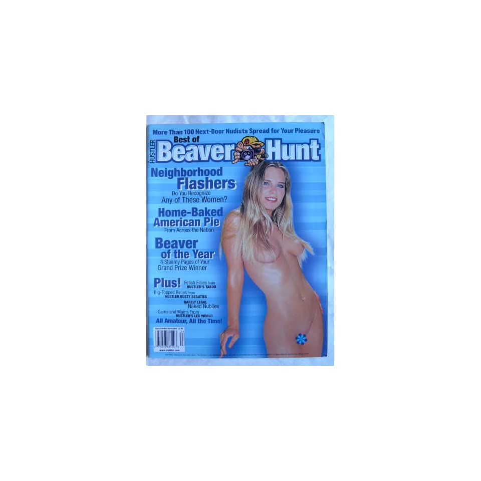 Best of Beaver Hunt, Hustler Adult Magazine 2000 Larry Flynt Books