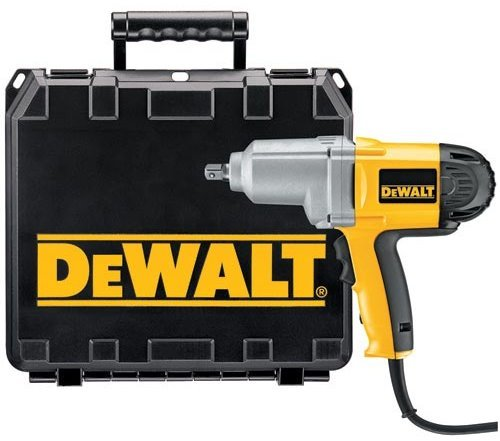 DeWalt DW292K 1/2″ Impact Wrench with Detent Pin Kit with Case – 7.5 Amps