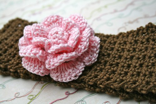 Baby crochets headbands with awesome