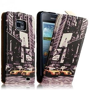 Seluxion - Housse Coque Etui pour Samsung Galaxy S2 i9100 motif LM06