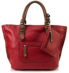 Scarleton Large Tote H103510 - Red