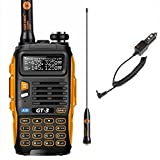 Baofeng GT-3 Mark-II Dual-Band Two-Way Radio Transceiver (Black-Orange)