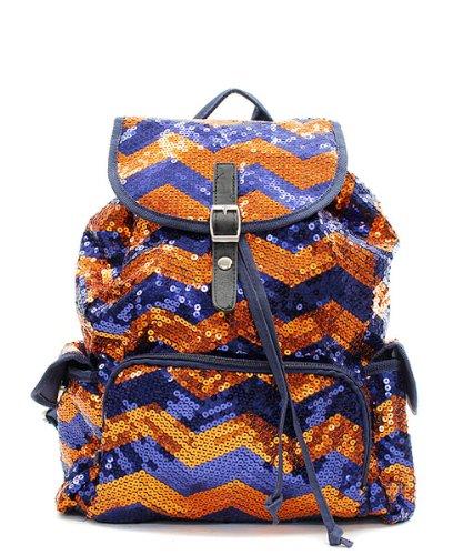 Best Sequin Chevron Packpack For Girls Glitter Sparkly