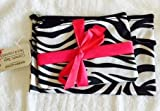 2 Piece Cosmetic Bags (Zebra) by Greenbrier