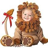 OHMIライオンコスプレ衣装動物着ぐるみ0〜4歳子供用アニマルキッズコスチューム(80cm)